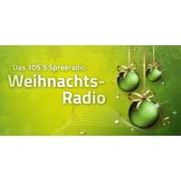 Logo of radio station 105.5 Spreeradio Weihnachtsradio