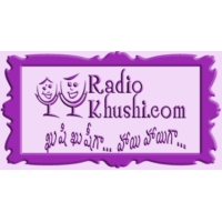 Logo of radio station Radio Khushi Telugu - India