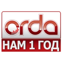 Logo of radio station Orda FM