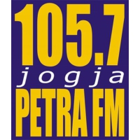 Logo of radio station Petra FM Jogja