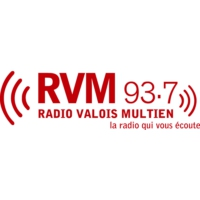 Logo of radio station RVM 93.7 FM