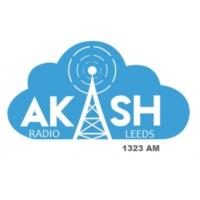 Logo of radio station Akash Radio Leeds