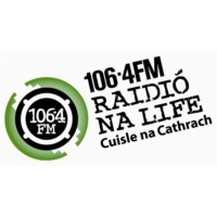 Logo of radio station Raidió Na Life