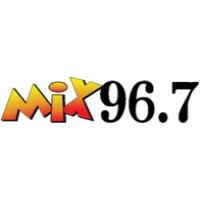 Logo of radio station WBVI Mix 96.7 FM