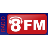 Logo of radio station 8 fm