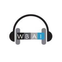 Logo of radio station WBAI Radio 99.5FM