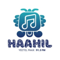 Logo of radio station XHPCHQ Haahil FM 91.3 FM
