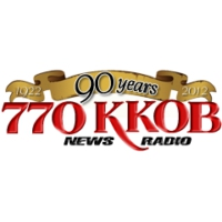 Logo of radio station KKOB