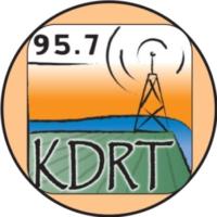 Logo of radio station KDRT 95.7 FM