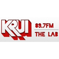 Logo of radio station KRUI
