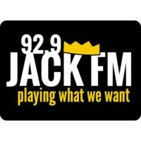 Logo of radio station WBUF 92.9 Jack FM