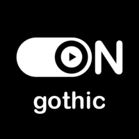 "Logo of radio station ""ON Gothic"""