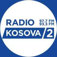 Logo of radio station Radio Kosova 2