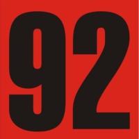 Logo of radio station Rádio 92 FM - 92.7 FM Timbo