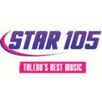 Logo of radio station WWWM Star 105.5
