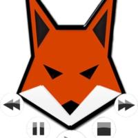 Logo of radio station Key Fox