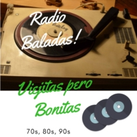 Logo of radio station Radio Baladas Viejitas Bonitas