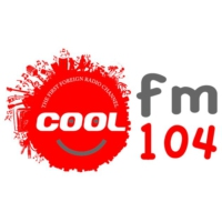 Logo of radio station Cool FM 104