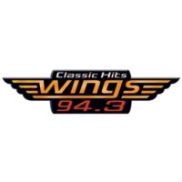 Logo of radio station WGZZ Wings 94.3
