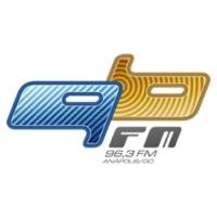 Logo of radio station Rádio 96 FM 96.3 FM Anápolis, GO