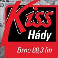 Logo of radio station KISS Hády