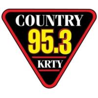 Logo of radio station 95.3 KRTY