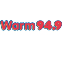 Logo of radio station KRMW Warm 94.9