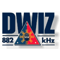 Logo of radio station DWIZ 882
