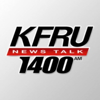 Logo of radio station KFRU 1400