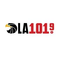 Logo of radio station KSCA-FM LA 101.9 FM