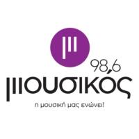 Logo of radio station Μουσικός 98,6