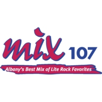Logo of radio station WEGC Mix 107.7
