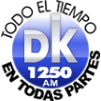 Logo of radio station DK 1250 AM