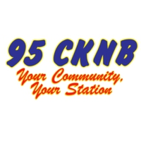 Logo of radio station 95 CKNB