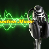 Logo of radio station Sensation Music