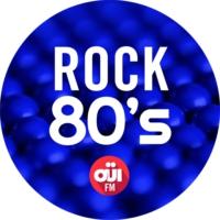 Logo of radio station OUI FM Rock 80's