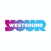 Logo of radio station West Sound FM