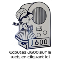 Logo of radio station J600