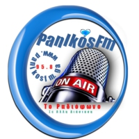 Logo of radio station panikosfm