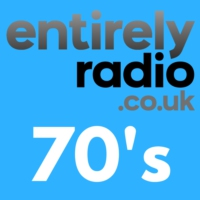 Logo of radio station Entirely Radio 70's