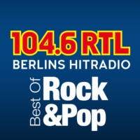 Logo de la radio 104.6 RTL Best of Modern Rock and Pop