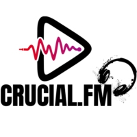 Logo of radio station Crucial Radio