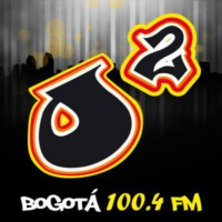 Logo of radio station Oxígeno Bogotá FM