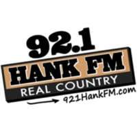 Logo of radio station KTFW 92.1 Hank FM