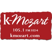 Logo of radio station KMZT K-Mozart 105.1
