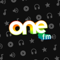 Logo of radio station ONE fm España