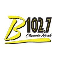 Logo of radio station KYBB B102.7