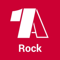 Logo of radio station - 1A Rock -