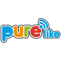 Logo of radio station Pure Like