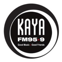 Logo of radio station Kaya FM